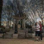 fotógrafo preboda Avila Parque El Capricho Gustavo Serrano