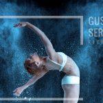 sesión de fotos con harina Gustavo Serrano Fotografo Profesional