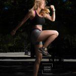 book modelo femenino fitness Carla Lerín Gustavo Serrano Fotografo León