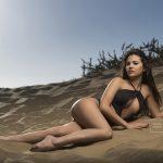 Book de fotos fitness en la playa