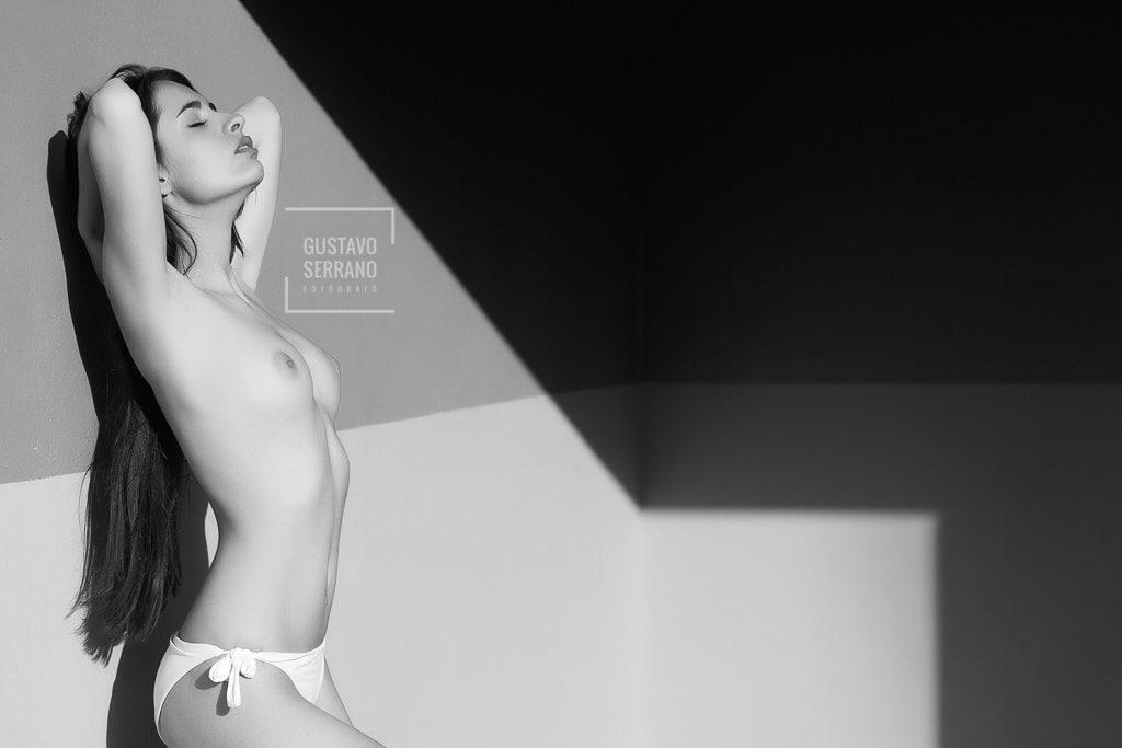 reportaje modelo fine art nude joanna devas