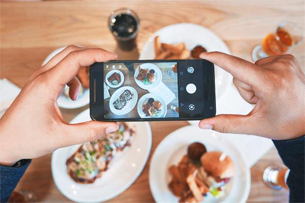 fotografo de alimentos
